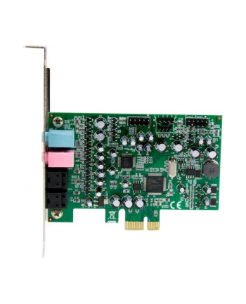 7.1 CHANNEL PCIE SOUND CARD StarTech.com 7.1 Kanal PCI Express Soundkarte - PCIe Sound Karte mit SPDIF optisches Kabel - 24-bit - 192KHz