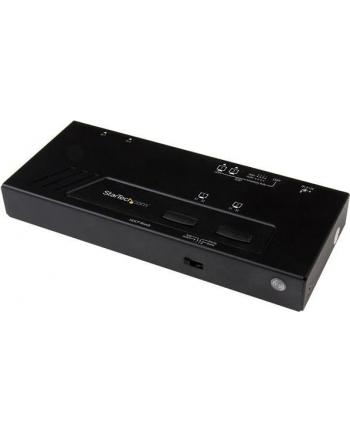 2X2 HDMI MATRIX SWITCH - 4K StarTech.com 2x2 HDMI Matrix Switch - 4K UltraHD HDMI Swtich with Fast Switching, Auto-sensing and Serial Control