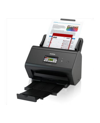 Brother ADS-2800W DOCUMENT SCANNER 215.9 x 355.6, 1200 x 1200 dpi, 30ppm, 9.144 cm (3.6 '') LCD, USB 2.0, 802.11g, 4.5kg