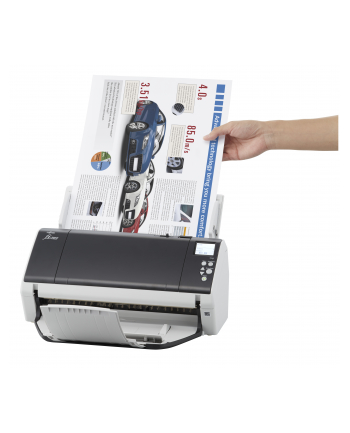 Fujitsu FI-7480 DOCUMENT SCANNER 80ppm / 160ipm duplex A4L ADF document scanner. Includes PaperStream IP, PaperStream Capture, Scanner Central administrator software and 12 months Advanced Exchange (2 day) warranty./