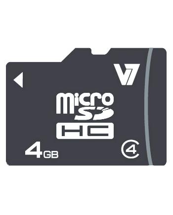 V7 MICROSD CARD 4GB SDHC CL4 INCL SD ADAPTER RETAIL