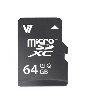 V7 MICROSD CARD 64GB MICROSDXC Micro SDXC Karte, 64GB, UHS-1