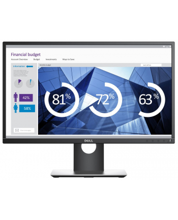 Monitor Dell P2417H LED 23,8'' (60.4cm) IPS FHD czarno-srebrny HDMI/DP/USB