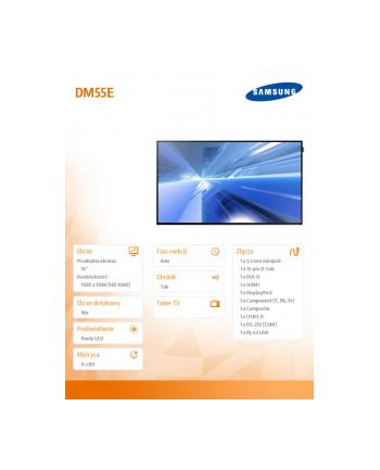 Samsung 55'' Smart Signage LH55DMEPLGC/EN (DM55E)