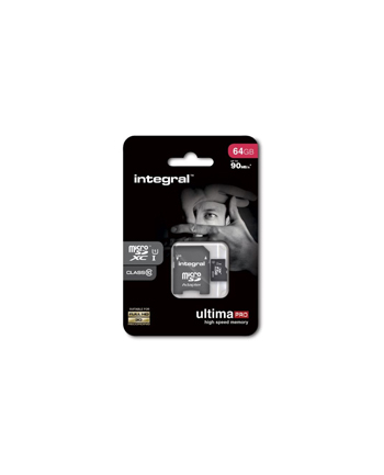 Integral KARTA FLASH MICROSDXC 64GB UHS-I 90MBS