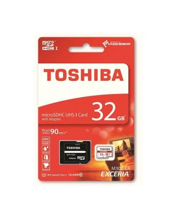 Toshiba microSD 32GB M302 UHS-I U3 with Adapter