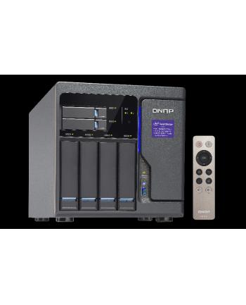 QNAP TVS-682-i3-8G 4x0HDD 2x0SSD 2xM.2 4xGbE 5xUSB 3xHDMI