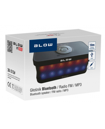 BLOW GŁOŚNIK BT-200 + FM