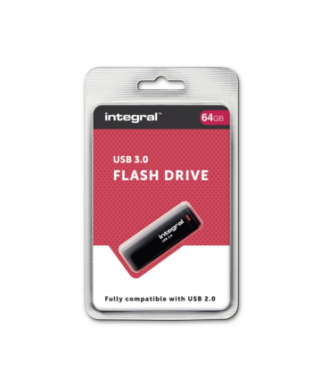 Integral PENDRIVE 64GB USB 3.0 BLACK