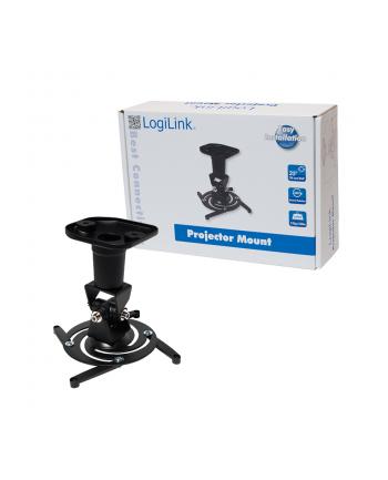 LogiLink Uchwyt do montażu projektora, czarny