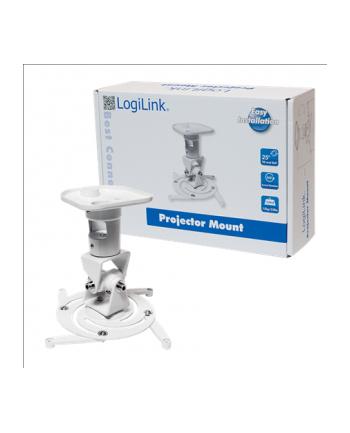 LogiLink Uchwyt do montażu projektora, biały