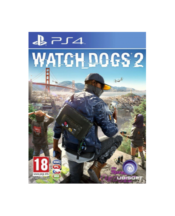 UBISOFT Gra Watch Dogs 2 PCSH (PS4)