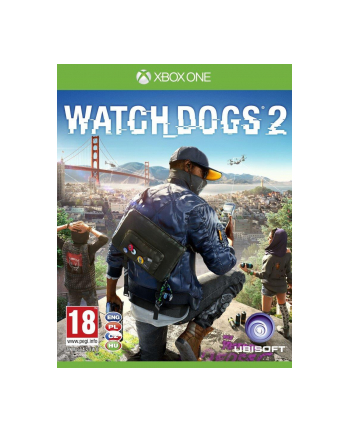 UBISOFT Gra Watch Dogs 2 PCSH (XBOX ONE)