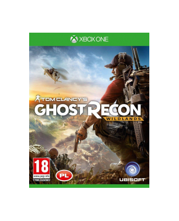 UBISOFT Gra Ghost Recon Wildlands PCSH (XBOX ONE)