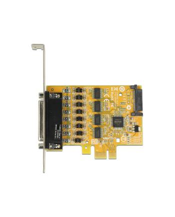 Delock Karta PCI Express > 4 x COM 9PIN na kablu 5V/12V
