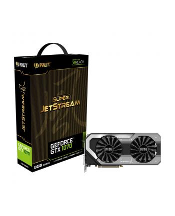 Karta VGA Palit GTX1070 OC Super JetStream 8GB GDDR5 256bit DVI+HDMI+3DP PCIe3.0