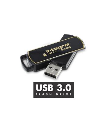 Integral flashdrive 32GB AES-256 bit SecureLock 360 secure USB3.0