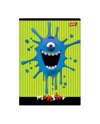 Zeszyt okładka laminowana, format A5, 32 kartki, linia, mix chłopięcy UNIPAP