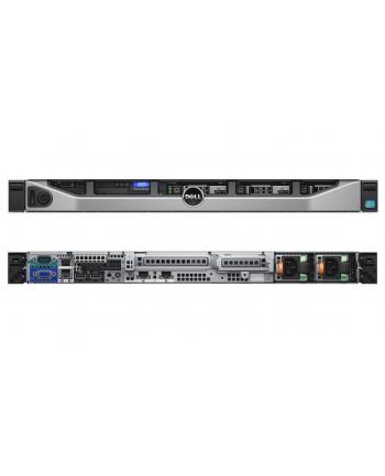 Dell R430 E5-2620v3 1x8GBrg 1x300GB SAS 10k 2,5'' w 3,5''  H730p 2x550W DVD-RW (HDD 4x3,5'')  (w nagazynie, serwer nowy , wyprzedaż !)