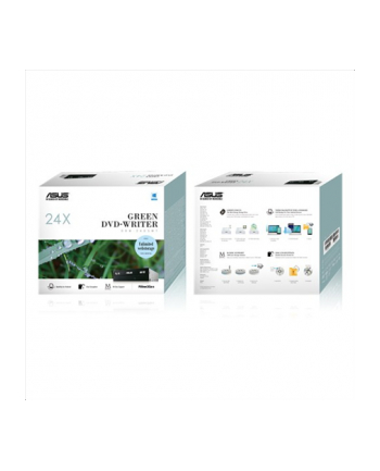 ASUS nagrywarka DVD 24D5MT, 24x, SATA, czarna