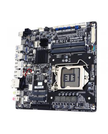 Gigabyte GA-H110TN, H110, DualDDR4-2133, SATA3, mSATA, HDMI, DP, mITX