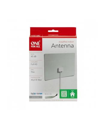 ANTENA wewnętrzna SV 9440 ze wzmacniaczem 45 dB, do 25 km od nadajnika / ONE FOR ALL