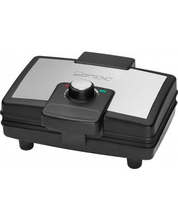Clatronic Gofrownica 800W czarny-inox             WA 3606