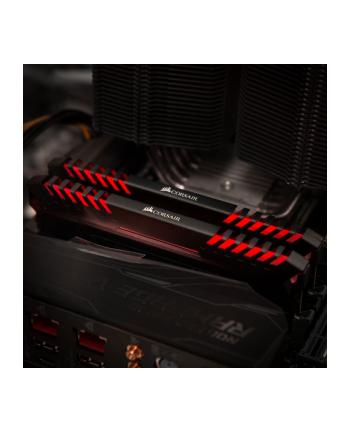 Corsair Vengeance LED czerwona DIMM Kit 16GB, DDR4-3000, CL15-17-17-35 (CMU16GX4M2C3000C15R)