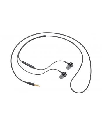Samsung Słuchawki kablowe Fabric earphone Black IG935