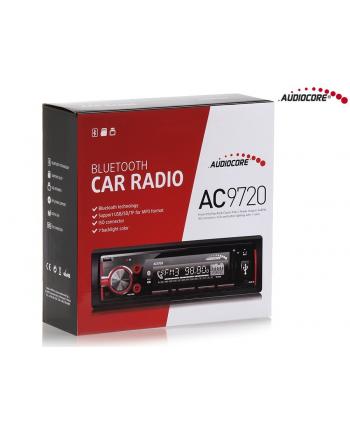 Radioodtwarzacz AC9720 B MP3/WMA/USB/RDS/SD ISO Bluetooth Multicolor