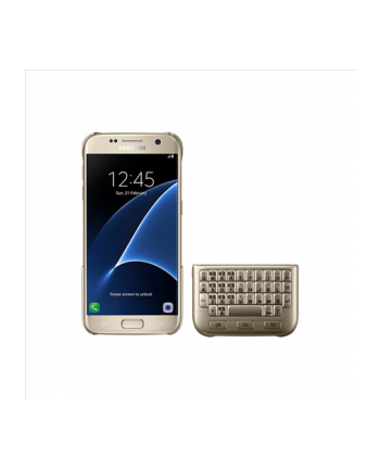 Keyboard Cover Galaxy S7 Gold