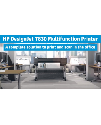 HP Inc. DesignJet T830 36-in MFP Printer F9A30A