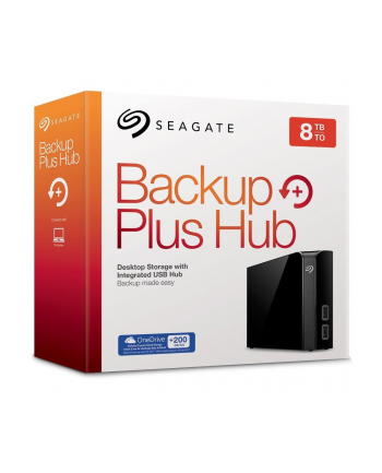 Seagate Backup Plus Hub 8TB 3,5'' STEL8000200