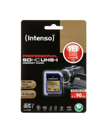 Intenso SDHC Professional 16GB, UHS-I/Class 10 (3431470)