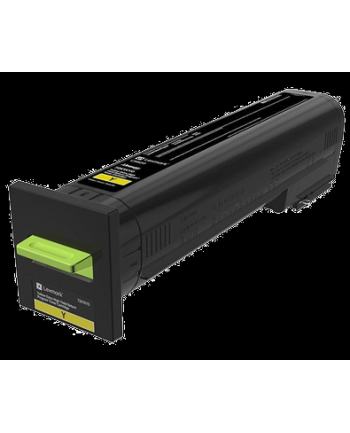 Toner Lexmark yellow CS820 |  22 000 str | CS820de / CS820dte / CS820dtfe