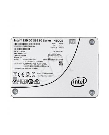 Intel® SSD DC S3520 Series 480GB, 2.5in SATA 6Gb/s, 3D1, MLC