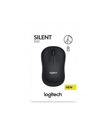 Logitech® B220 Silent - IN-HOUSE/EMS,NO LANG,EMEA,BLACK,RETAIL,2.4GHZ,M-R0061,B2