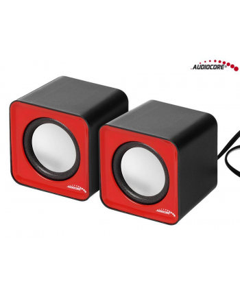 Audiocore Głośniki komputerowe 6W USB AC870R