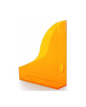 DURABLE BASIC pojemnik na katalogi A4, pomarańczowy-przezroczysty