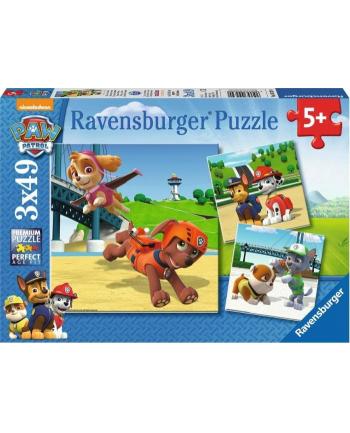RAVENSBURGER RAVEN. 3x49 EL. Psi Patrol, Zespół na 4