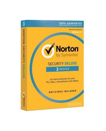 Symantec *Norton Sec.3.0 DELUX PL CARD 1U 3Dvc 1Y 21357598
