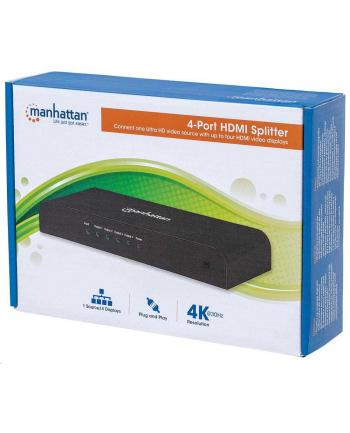 Manhattan Splitter HDMI 1/4 1x wejście 4x wyjście 3D 4K zasilanie AC