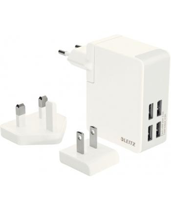 Ładowarka sieciowa Leitz Complete Traveller, z USB do gniazdka sieciowego, 4xUSB