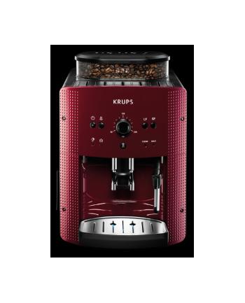 Ekspres do kawy Krups EA8107   czerwony