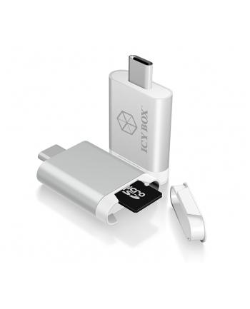 Icy Box Zewnętrzny czytnik kart pamięci MicroSD/SDHC z USB 3.0 Type-C