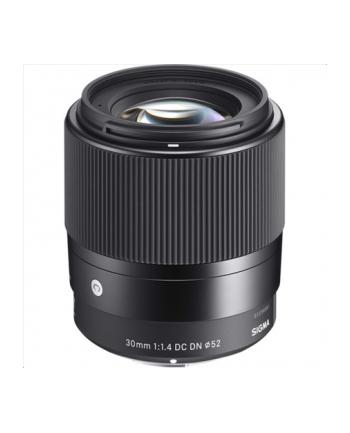 Sigma 30mm F1.4 DC DN for Sony-E mount, Black [Contemporary]