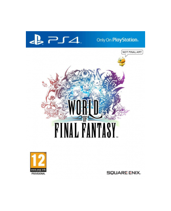 Cenega Polska Gra World of Final Fantasy Standard Edition (PS4)