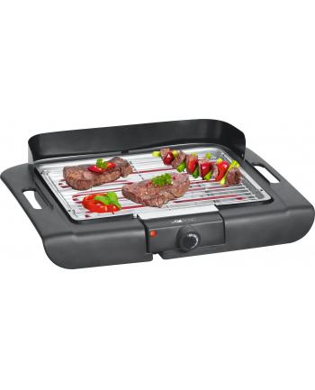 Grill elektryczny Clatronic BQ 3507 (2000W stołowy-otwarty  czarny)