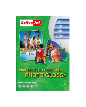 Papier fotograficzny błyszczący Activejet A4 100szt. 160g/m2