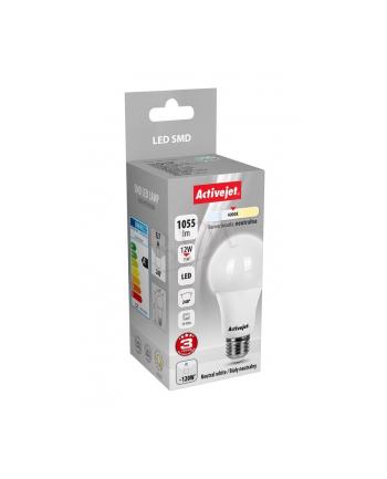 Activejet żarówka LED SMD AJE-HS1055N (standardowa 1055lm 12W E27 biały neutralny)
